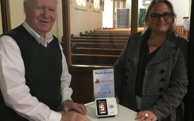'Tap and Give' Trial a Success in South Yarra